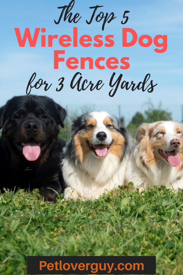 Wireless Dog Fence For 3 Acres